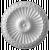 ROSETA ukrasna  PR-6   prečnik Ø 28cm