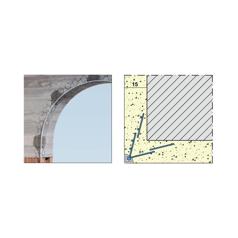 Lajsna WIDRA APBK PVC ŽIČANA  za LUKOVE L=2,95m