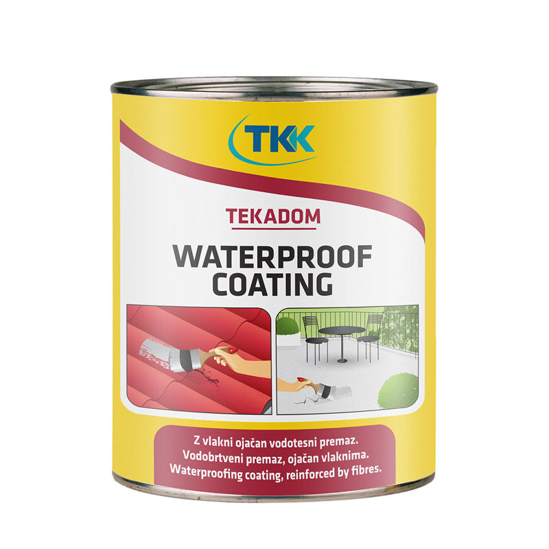 Tekadom Waterproof Coating vodonepropusni premaz  1 kg WASERDIHT