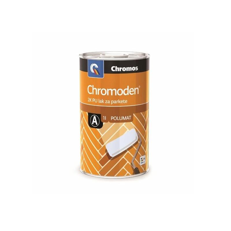 CHROMODEN lak za parket Polu-MAT 1A+1B= 2 lit  Chromos