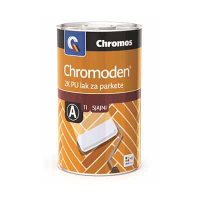 CHROMODEN lak za parket SJAJ 1A+1B= 2Lit  Chromos