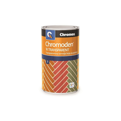 Chromoden TRANSPARENT bajc za Chromos lak 1lit