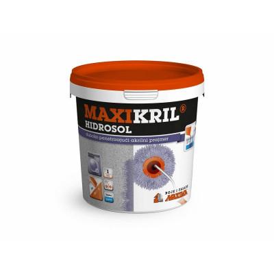Maxikril HIDROSOL 1:5  dubokopenetrirajući akrilni prajmer