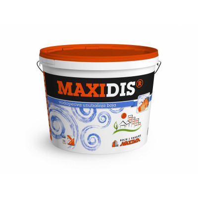 MAXIDIS  vodoperiva boja
