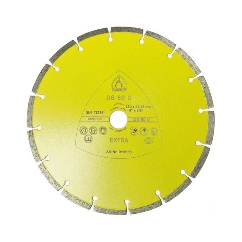 Dijamantska rezna ploča DS60U 115mmx22,23mm sa prorezom