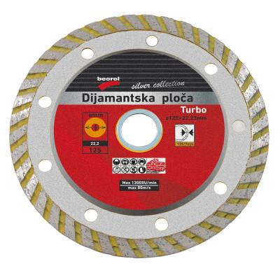 Dijamantska rezna ploča 230mmx22,23mm TURBO