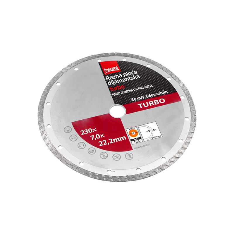 Dijamantska rezna ploča 115mmx22,23mm TURBO