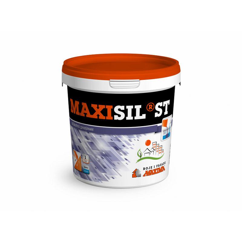 MAXISIL ST podloga za SILIKATNE fasadne boje i maltere