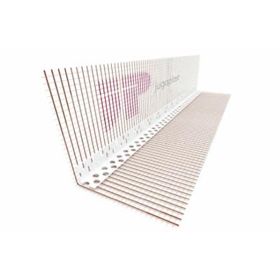 Lajsna PVC sa mrežicom 10cmx15cmx2,5m sa VERTEX mrežica 160gr EXTRA kvalitet