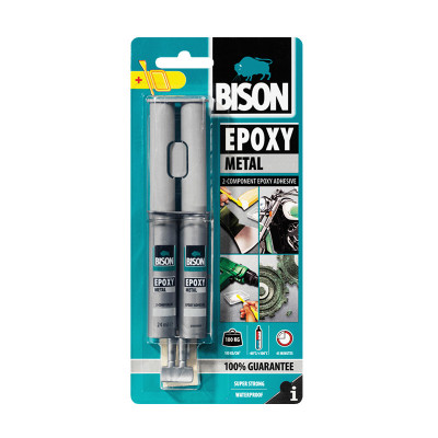 BISON EPOXY METAL 2K  24ml tečni metal