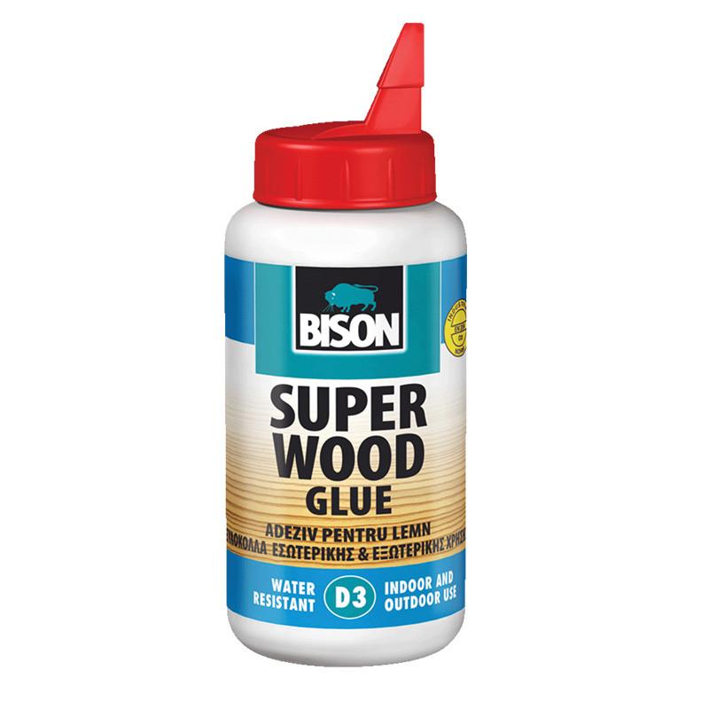 BISON SUPER WOOD VODOOTPORNI D3 lepak za drvo