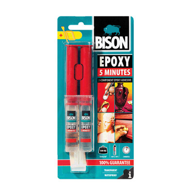 BISON EPOXY 5 MIN 2K  24ml
