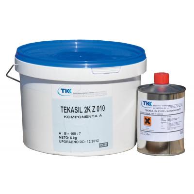 TEKASIL 2K Z 010 ZALIVNI  5,35kg elastična masa za izlivanje kalupa