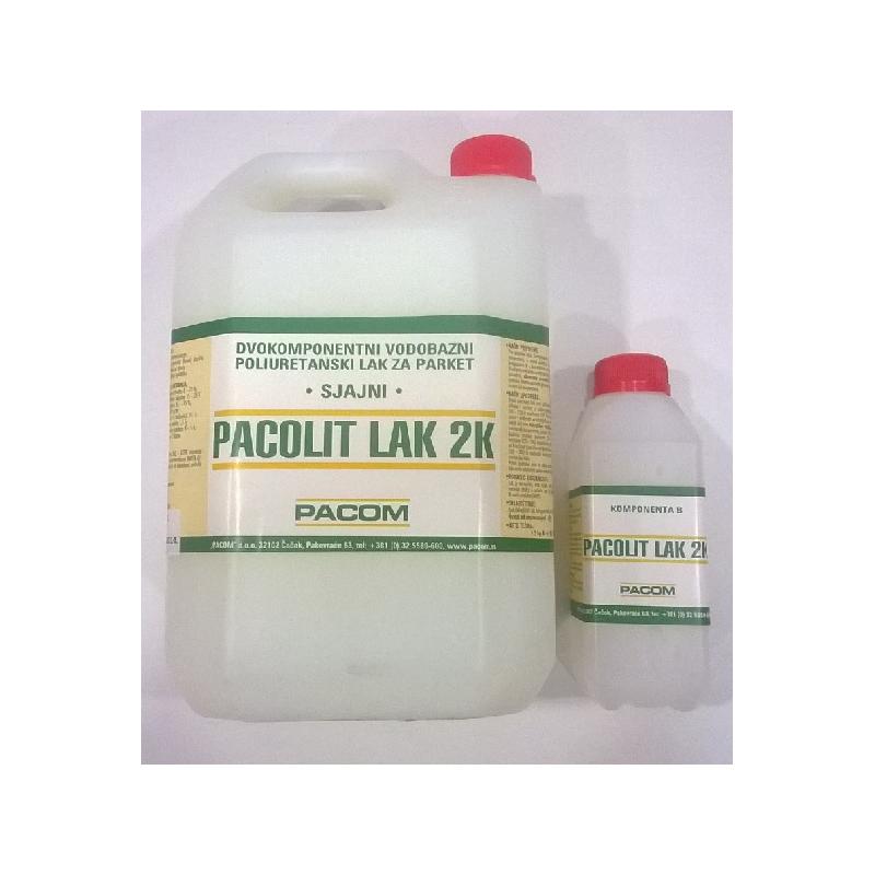 PACOLIT LAK 2K - dvokomponentni vodobazni PU lak za parket