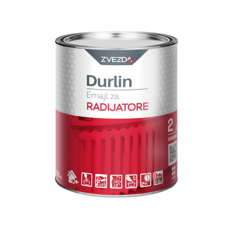 DURLIN Emajl za radijatore 0,75 lit