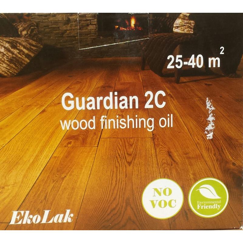 GUARDIAN 2C  ulje za zaštita drveta, drvenih podova u ENTERIJERU