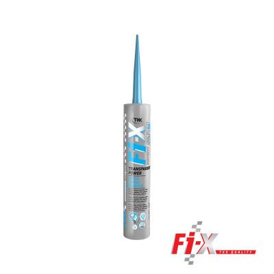 Fi-X expert TRANSPARENT POWER 290ml univerzalni profesionalni 100% transparentni elastični lepak