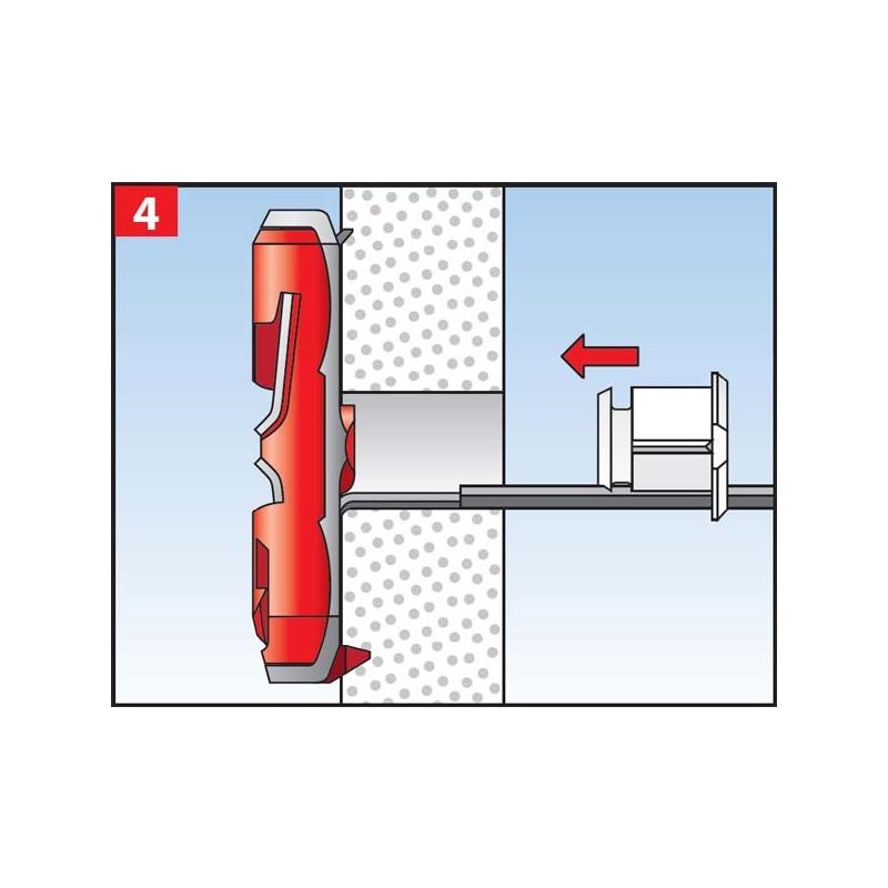 Fischer DUOTEC fi 10mm Najlonski tipl za visoka opterećenja