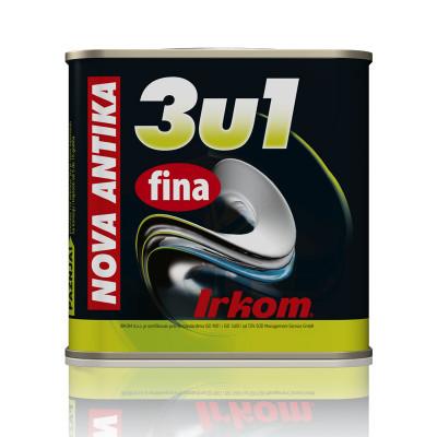 3u1 Nova ANTIKA FINA antikorozivna, temeljna i završna boja za metal i  pocinkovane površine