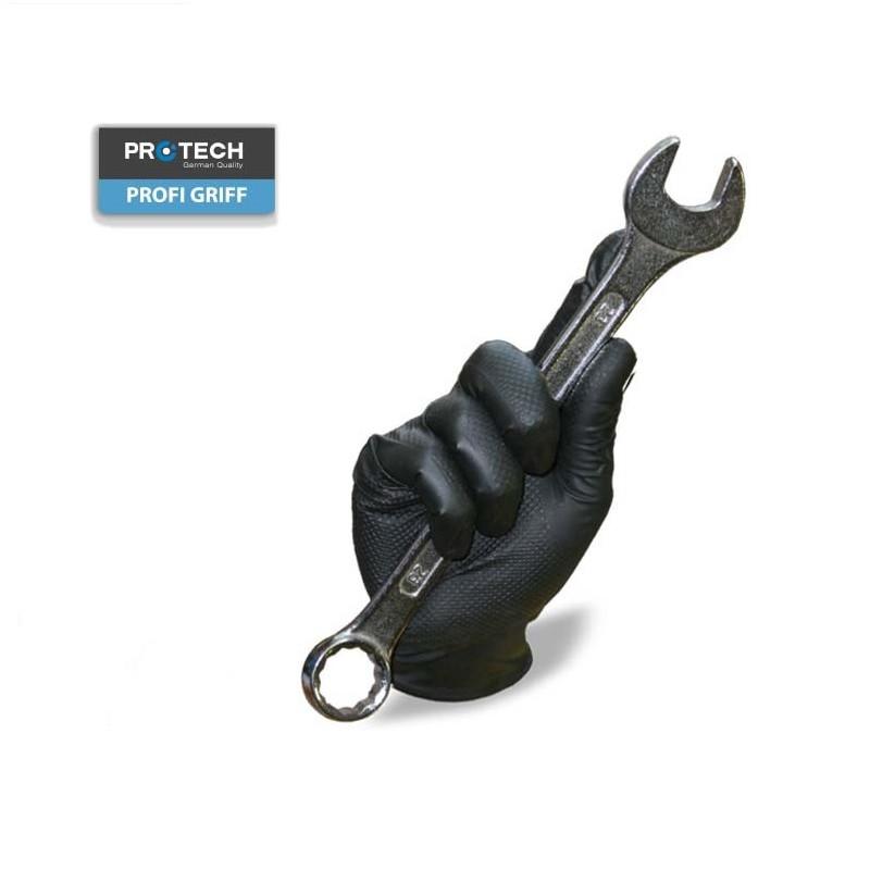 Rukavice PROFI GRIFF sa protivkliznom šarom otporne na razređivače, ulja i odmašćivače