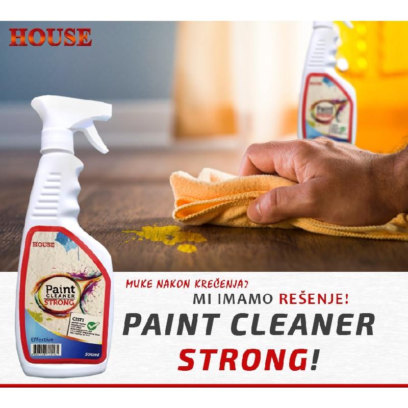 Paint CLEANER STRONG 500ml snažni čistač unutrašnjih, fasadnih boja i završnih akrilnih malteraA