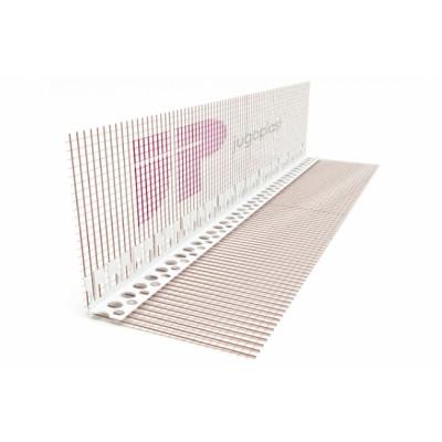 PVC LUČNI PROFIL sa staklenom mrežicom L=2,5m