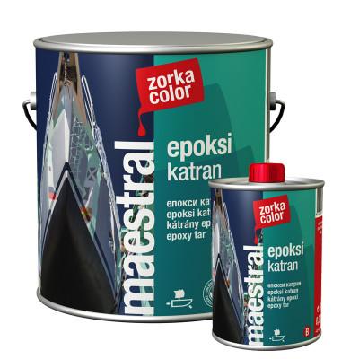 Maestral EPOXI KATRAN Crni 2K A+B  3kg
