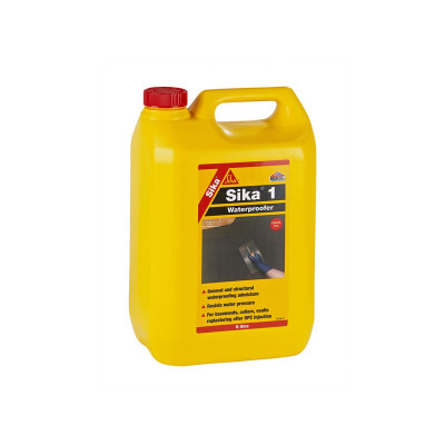 Sika-1    5 kg  aditiv za vodonepropusnost