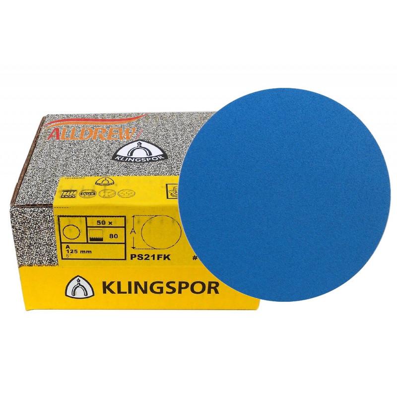 Brusni disk sa čičkom Klingspor PS21FK fi 125mm