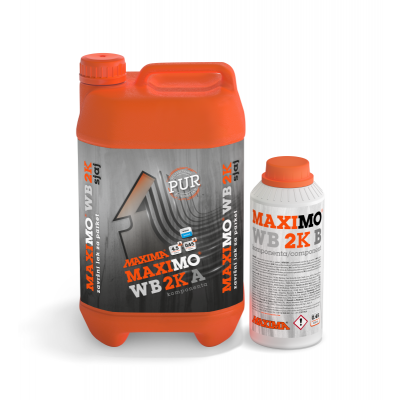 MAXIMO® WB 2K SJAJ poliuretanski završni lak za parket