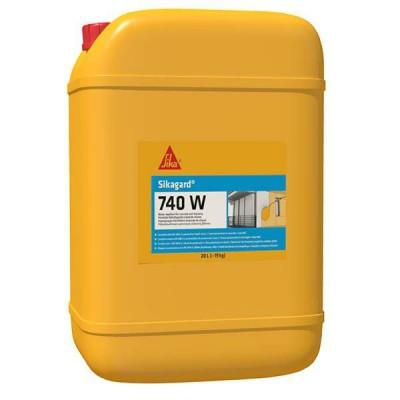 SIKAGARD 740 W  5kg vodoodbojna impregnacija za upijajuće vertikalne i horizontalne površine